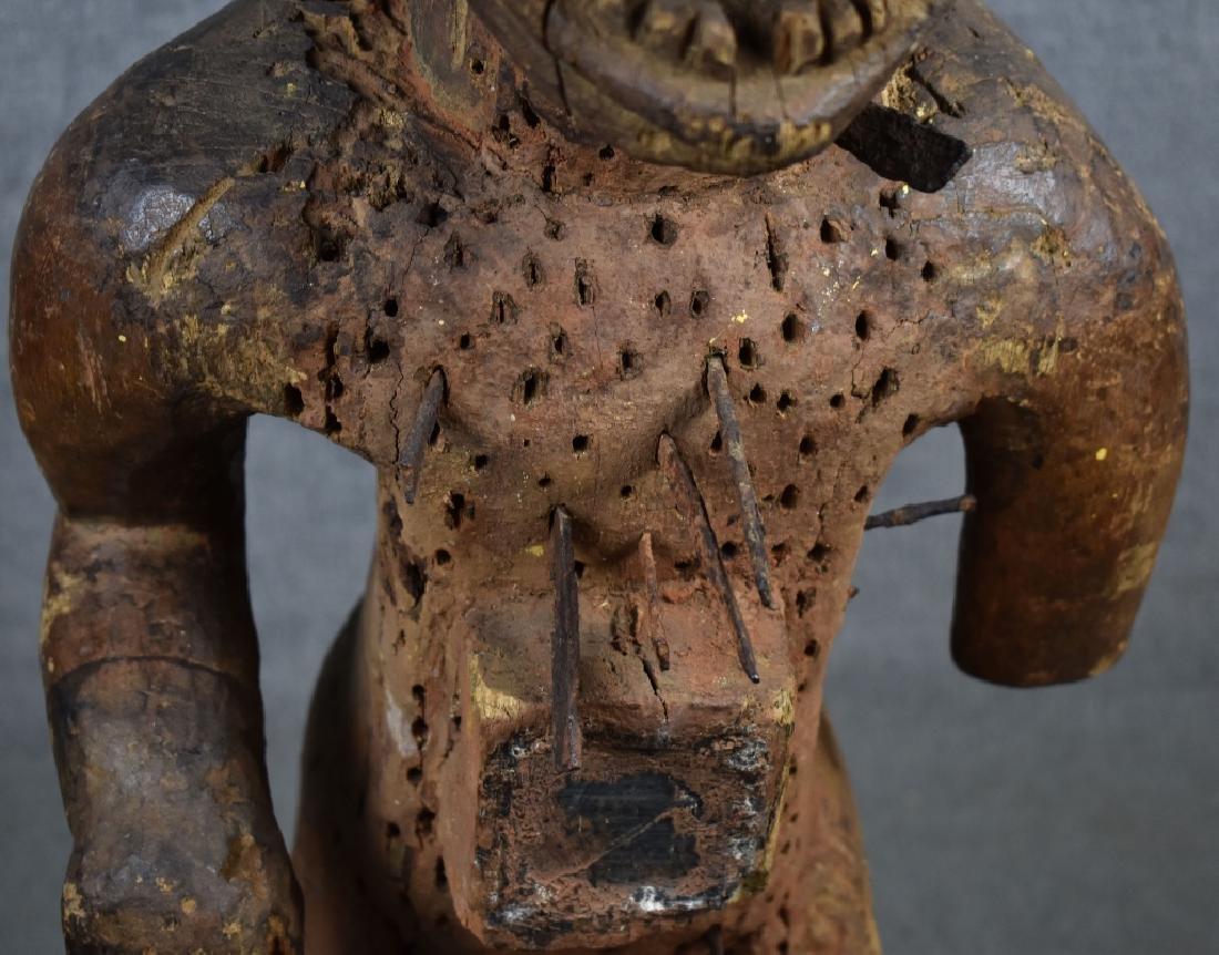 Kongo Nail Fetish Figure - 3