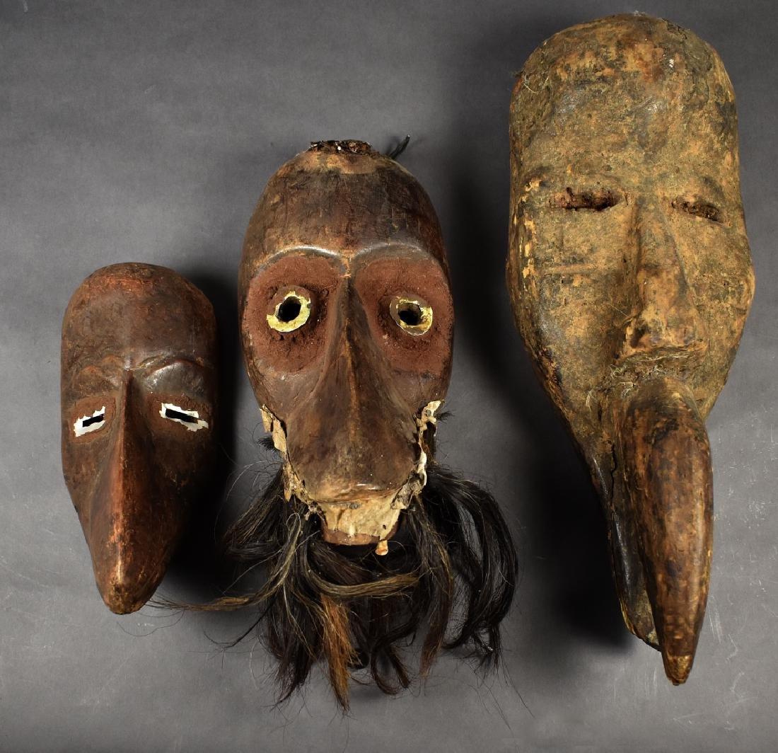 Group of Three Dan Face Masks