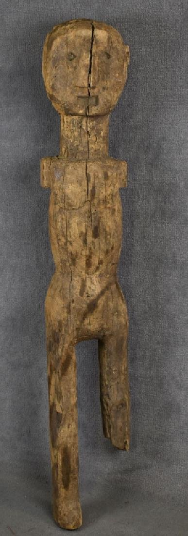 African Carved Wooden Figure