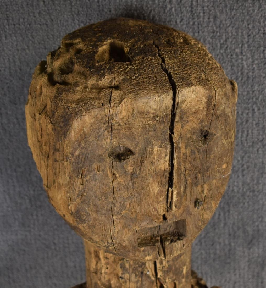 African Carved Wooden Figure - 2