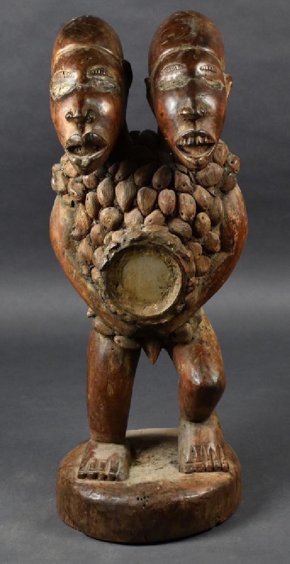 Kongo Double-Headed Power Figure