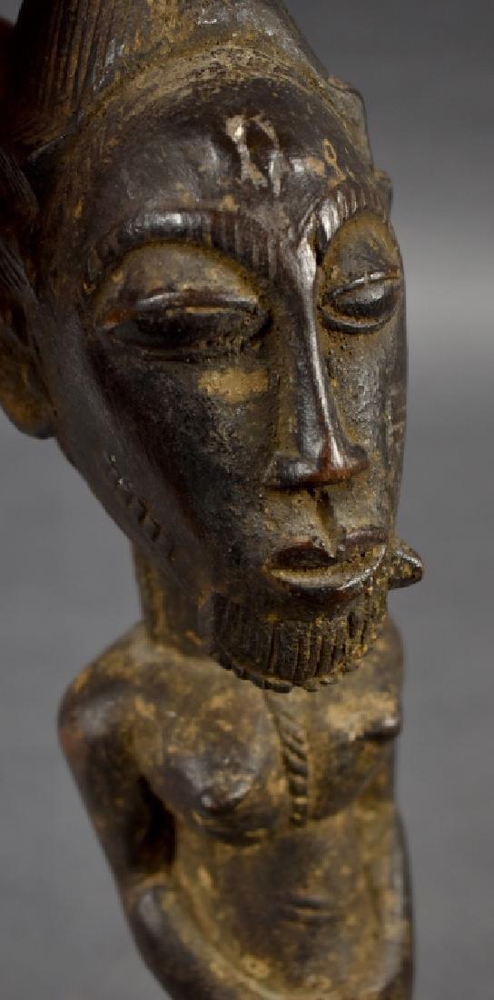 Baule Male Figure Mask - 4