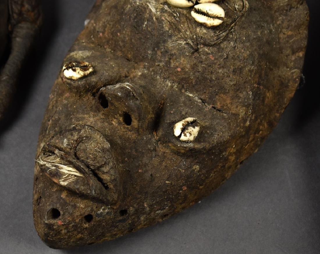 Three Baule Masks - 2