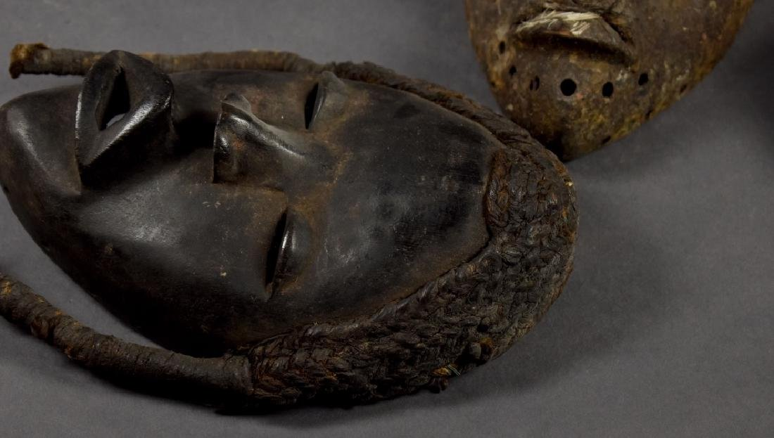 Three Baule Masks - 4