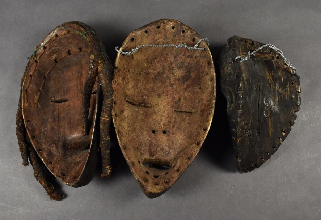 Three Baule Masks - 5