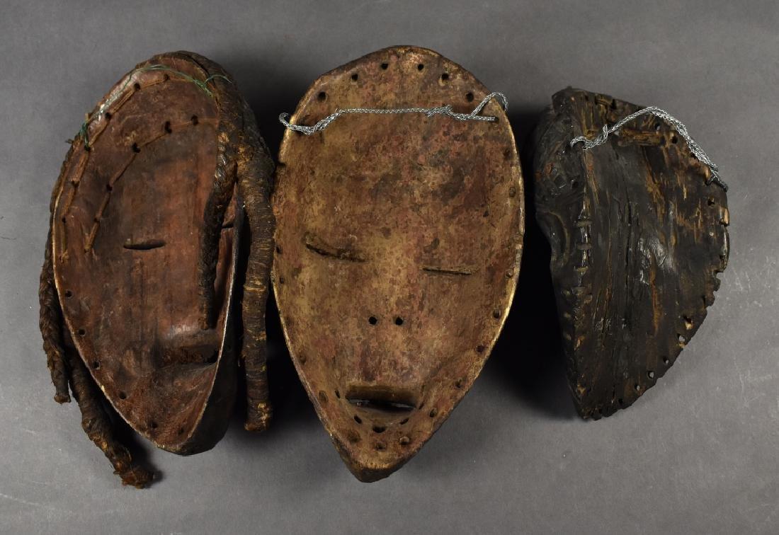 Three Baule Masks - 5