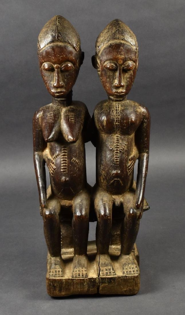 Dogon Male and Female Figure