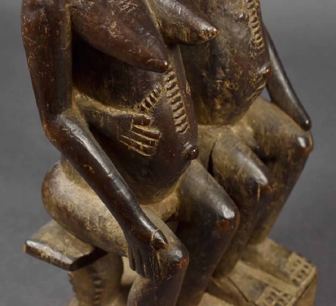 Dogon Male and Female Figure - 3
