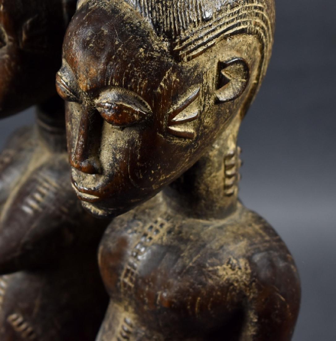 Dogon Male and Female Figure - 7