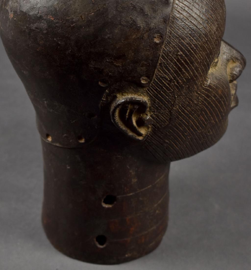 Benin Bronze Oba - 3