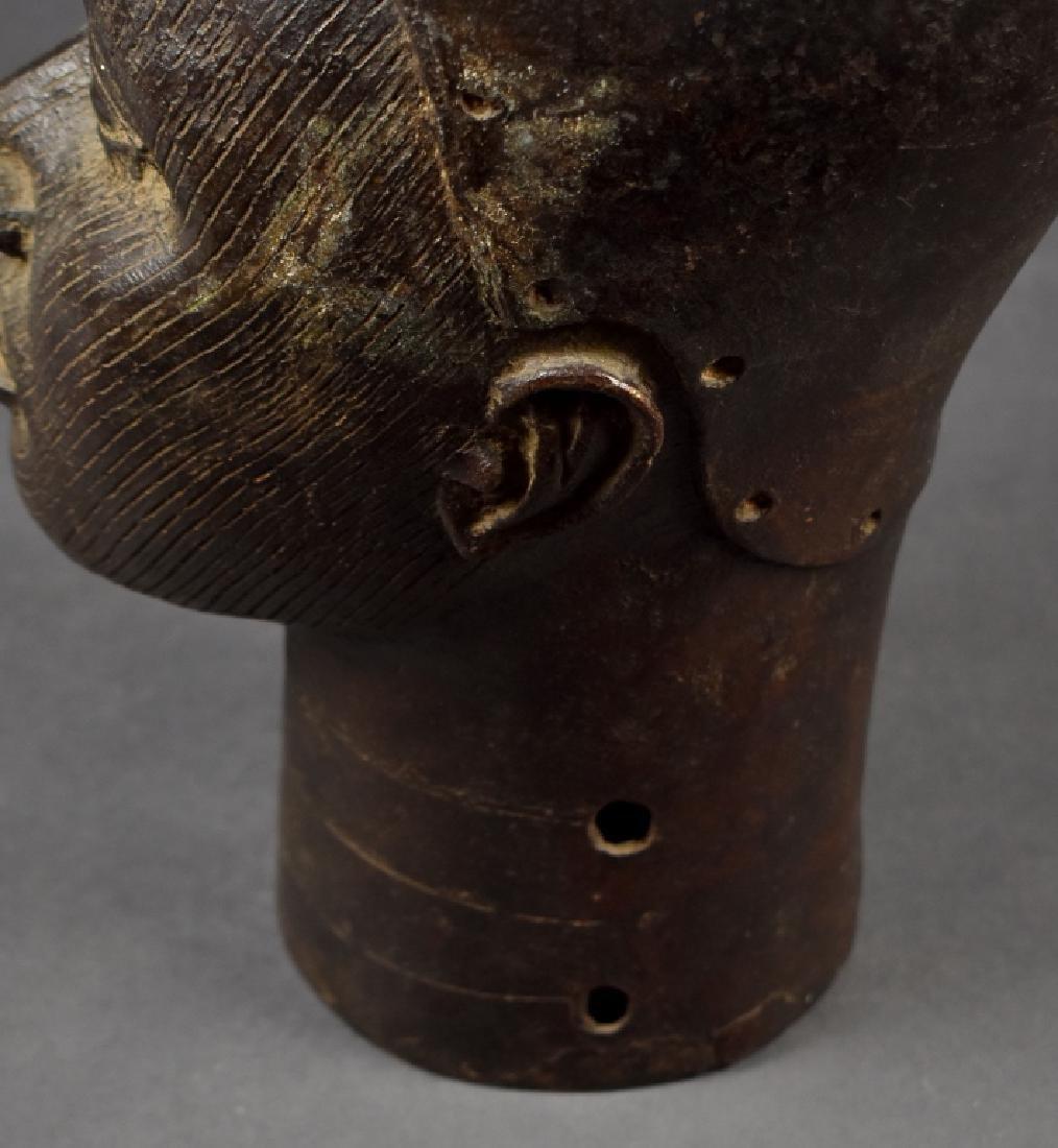 Benin Bronze Oba - 5