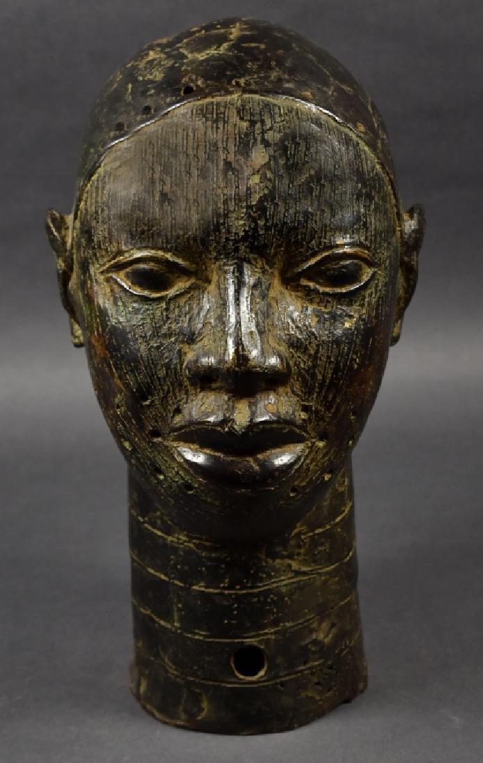 Benin Bronze Oba