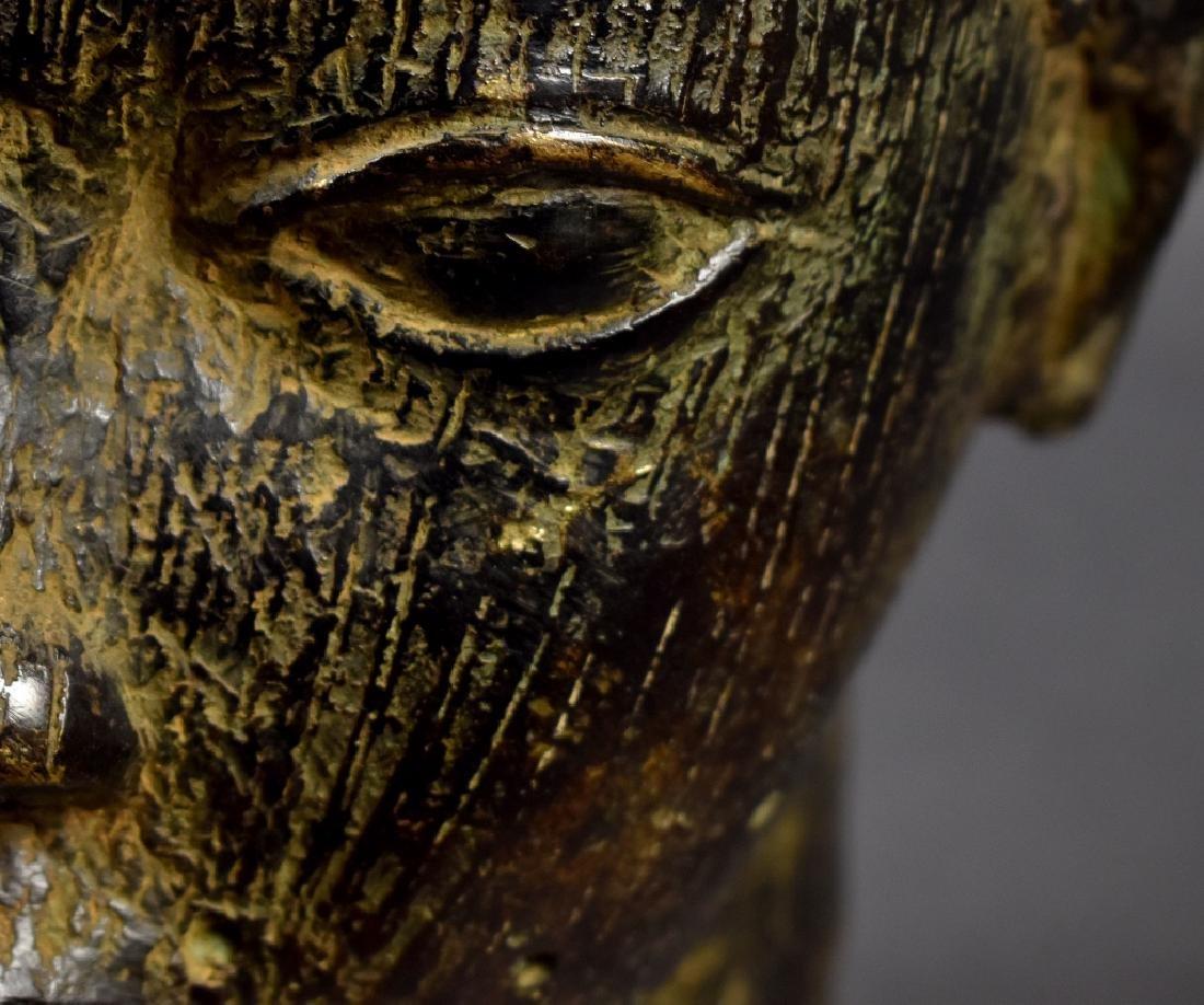 Benin Bronze Oba - 2