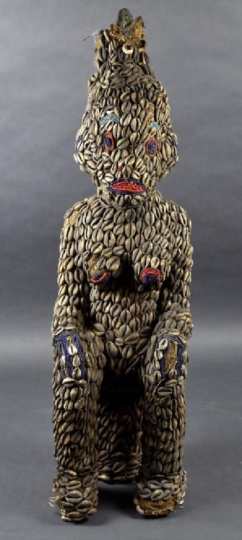 Beaded African Sculpture