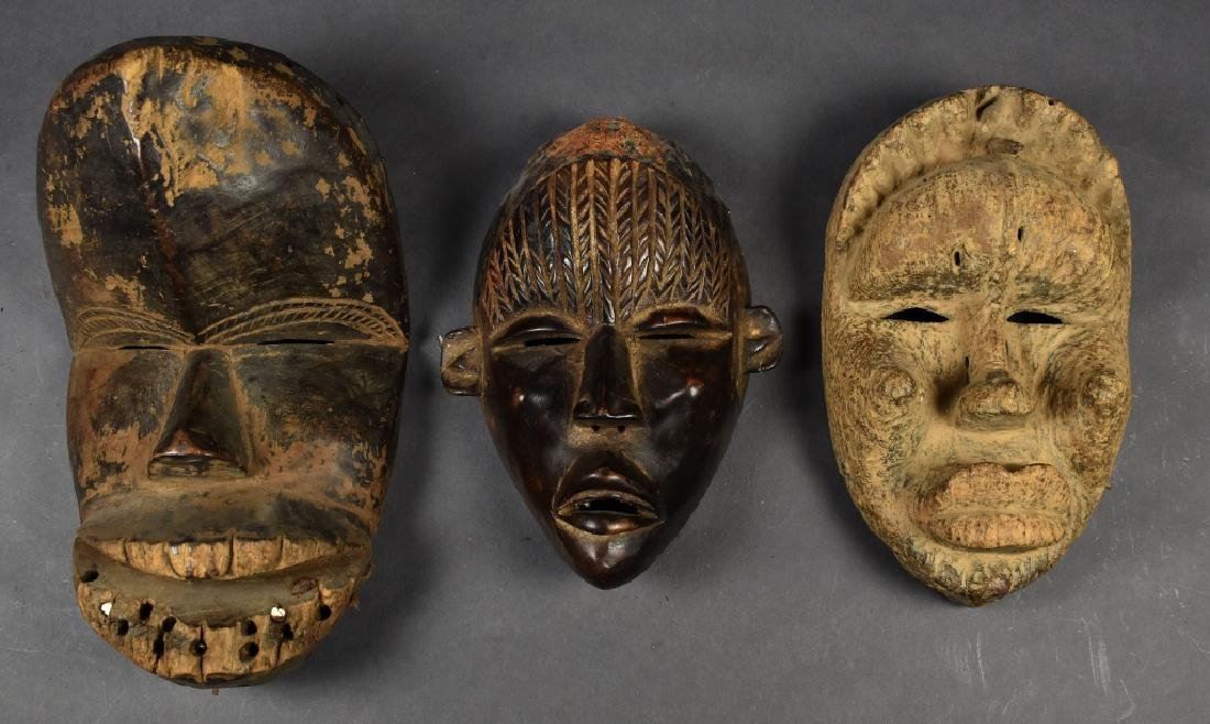 Three Dan Masks