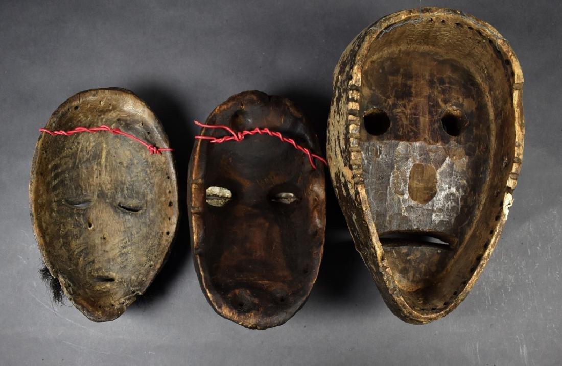 Three Dan Masks - 6