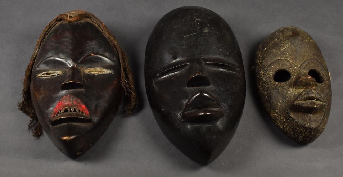 Three Dan Masks