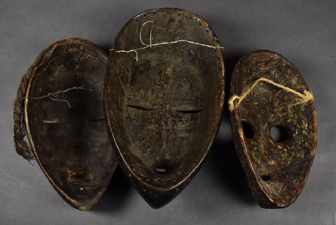 Three Dan Masks - 5