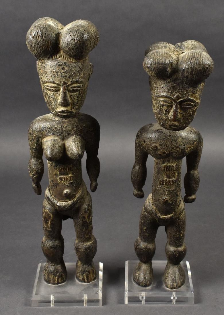 Two Bamana Figures