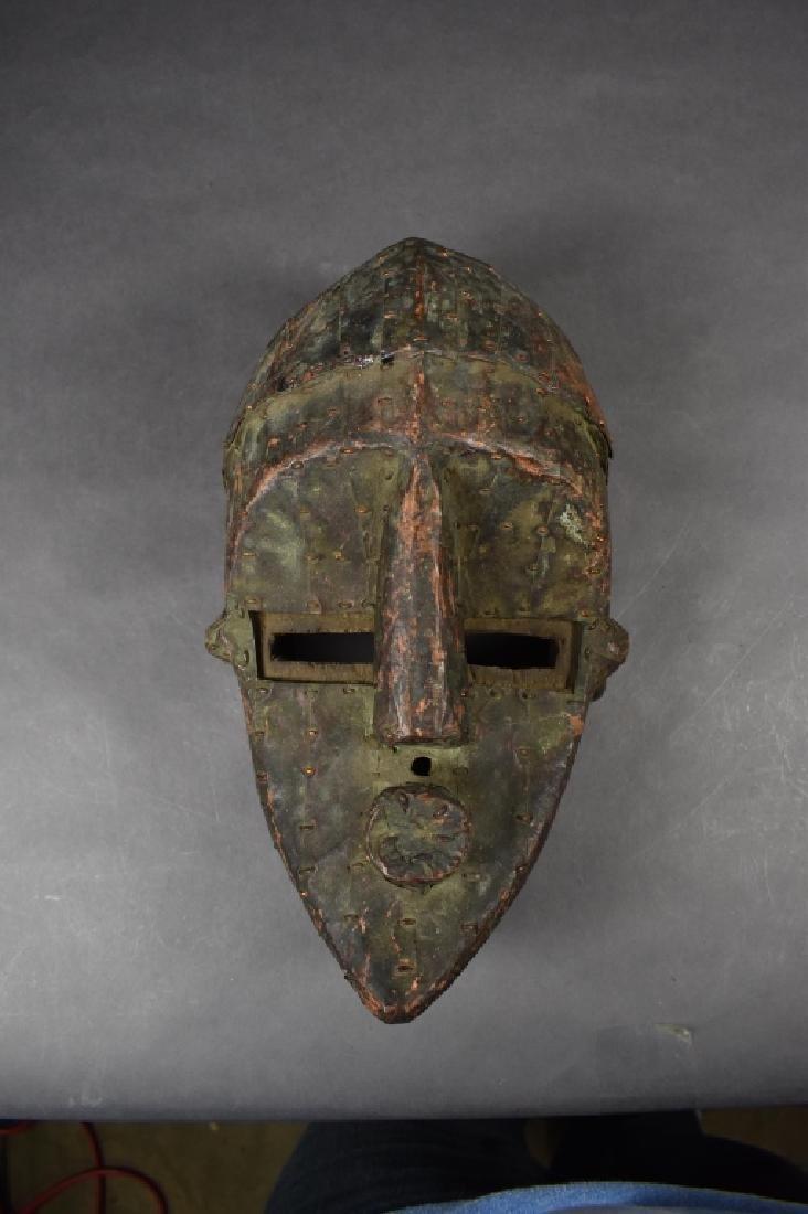 Songye Mask with Metal Studs