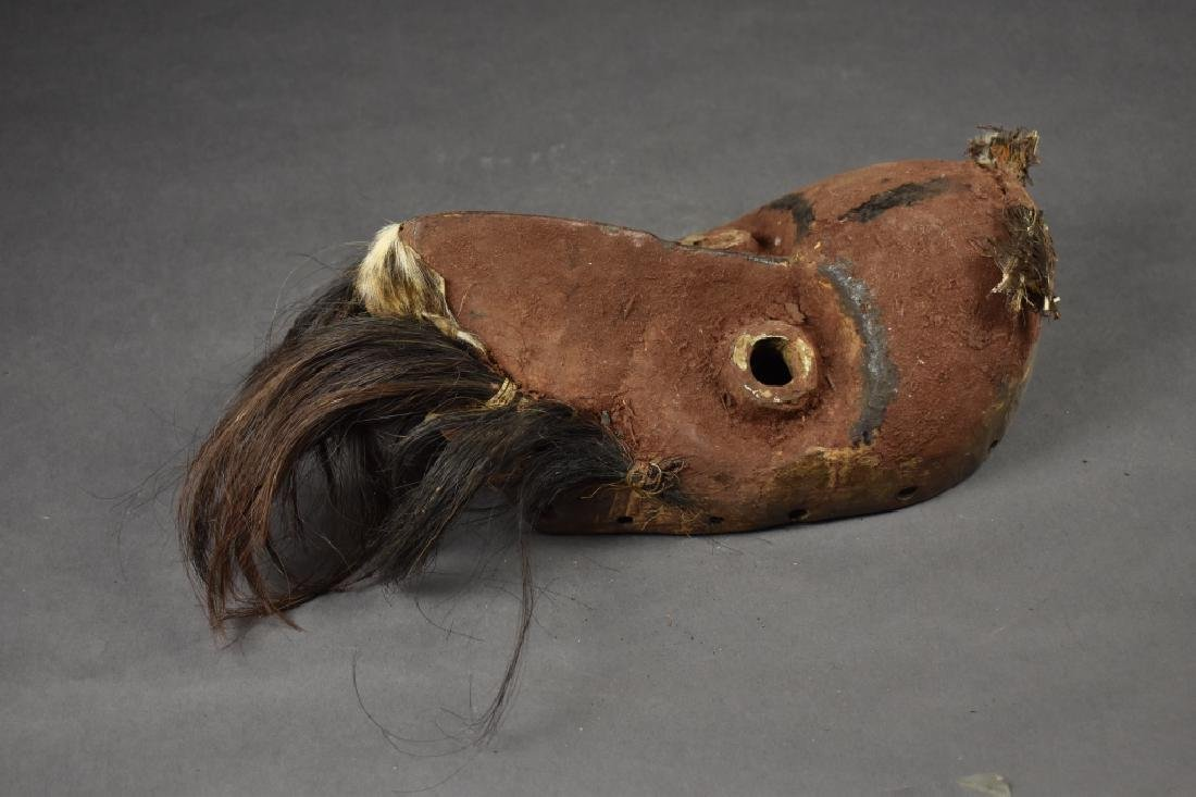 African Mask with Feathers - 2