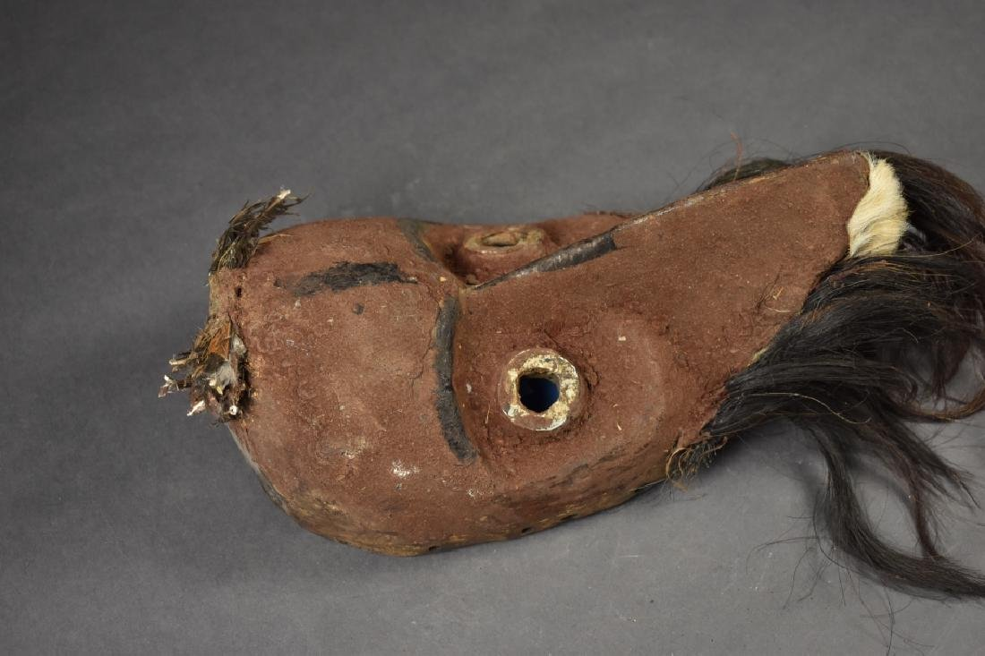 African Mask with Feathers - 3