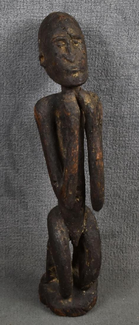 Two Assorted African Figures
