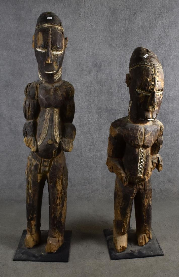 Pair of Large African Figures