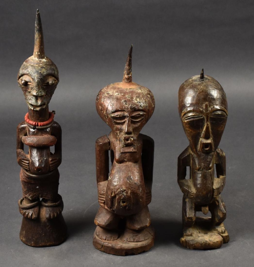 Three Songye Figures