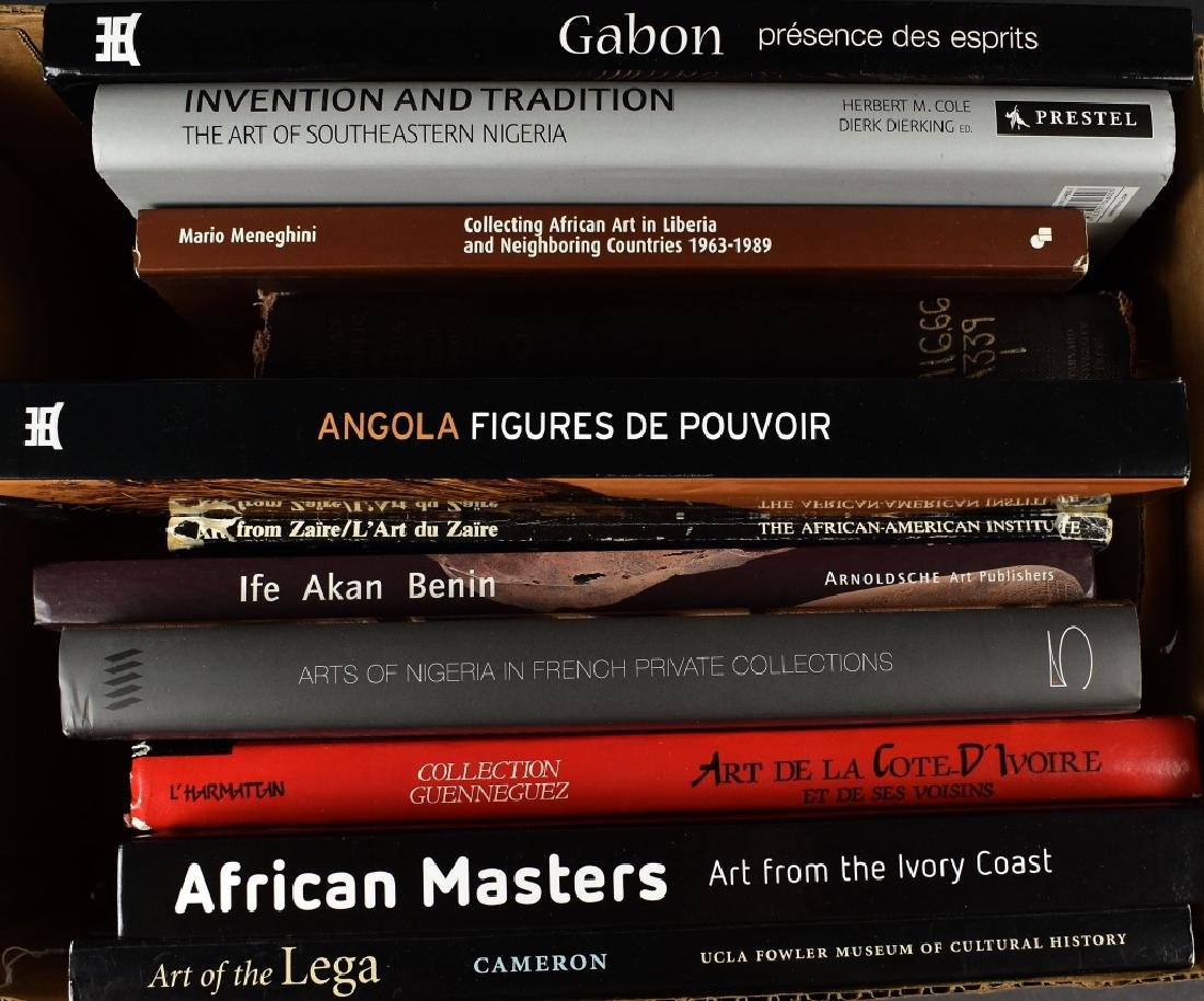 11 Books on African Art from Various Cultures