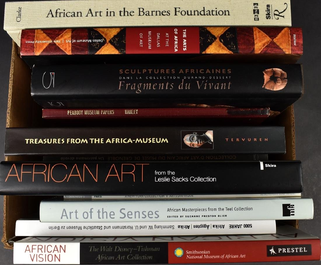 12 Books on African Art Museum Collections