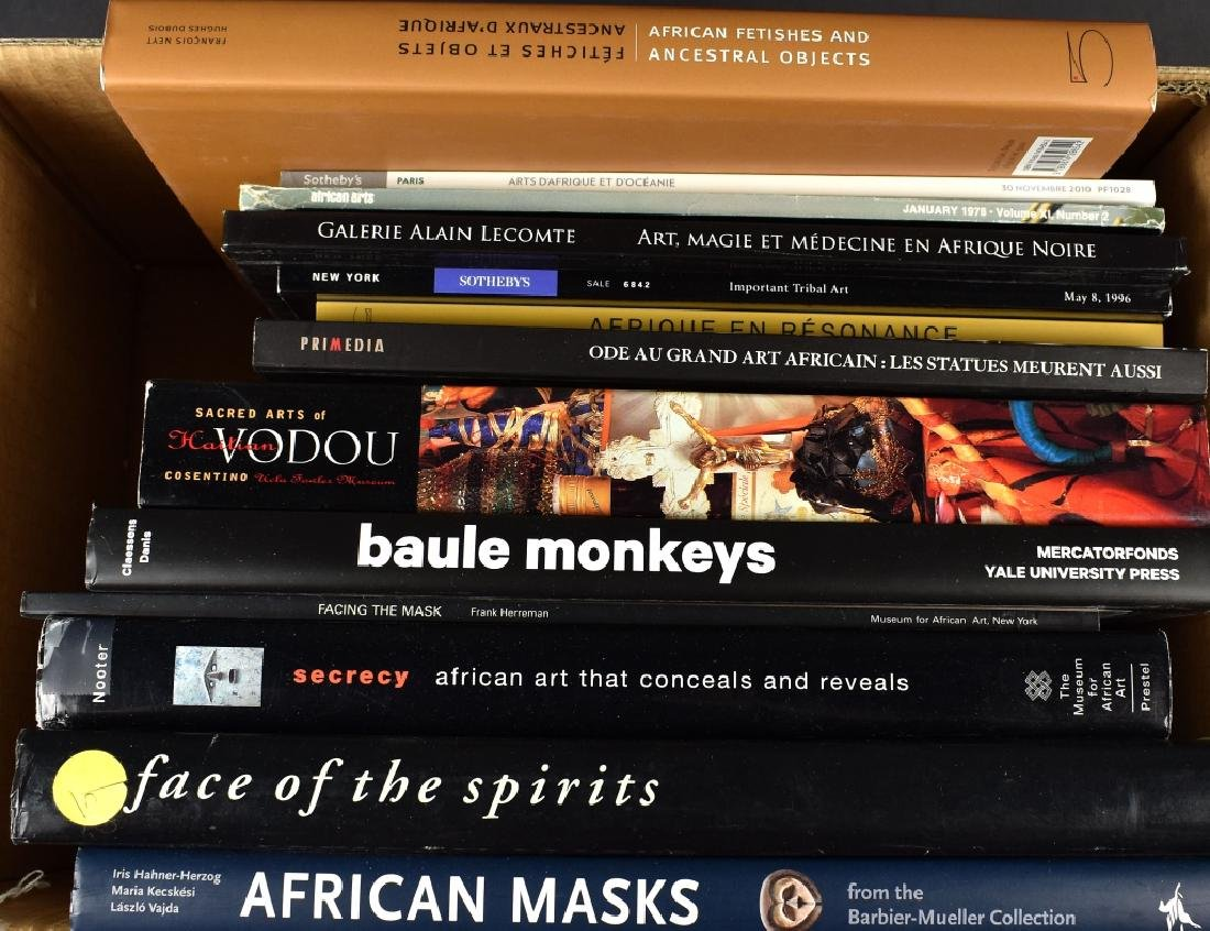 13 Books on African Art