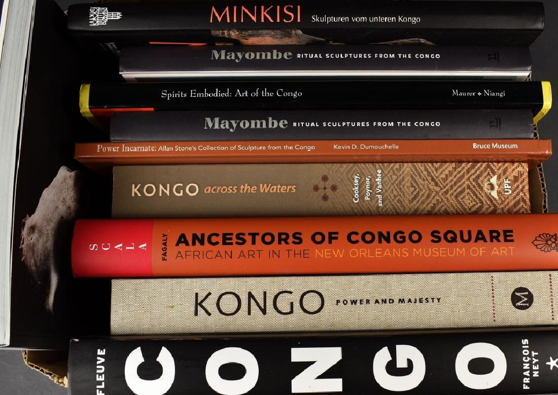 11 Books on African Art of the Congo