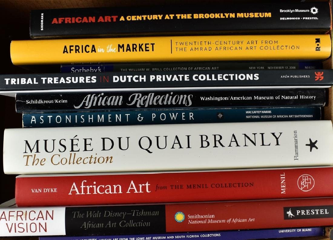11 Books on African Art Museum Collections