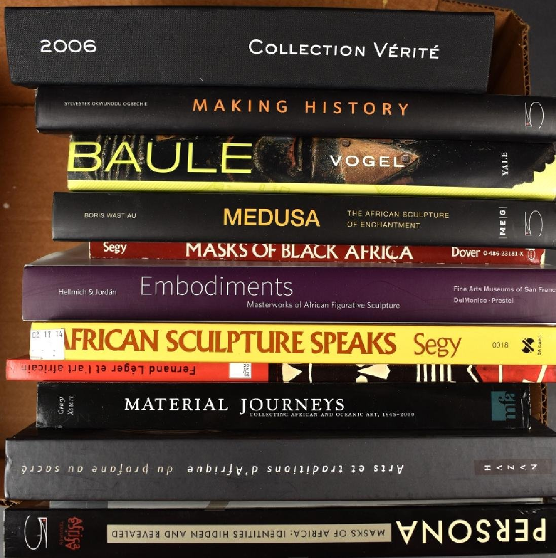 12 Books on African Art
