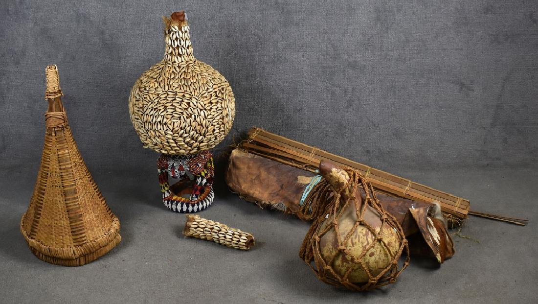 Gourd-Shaped Pottery Vase