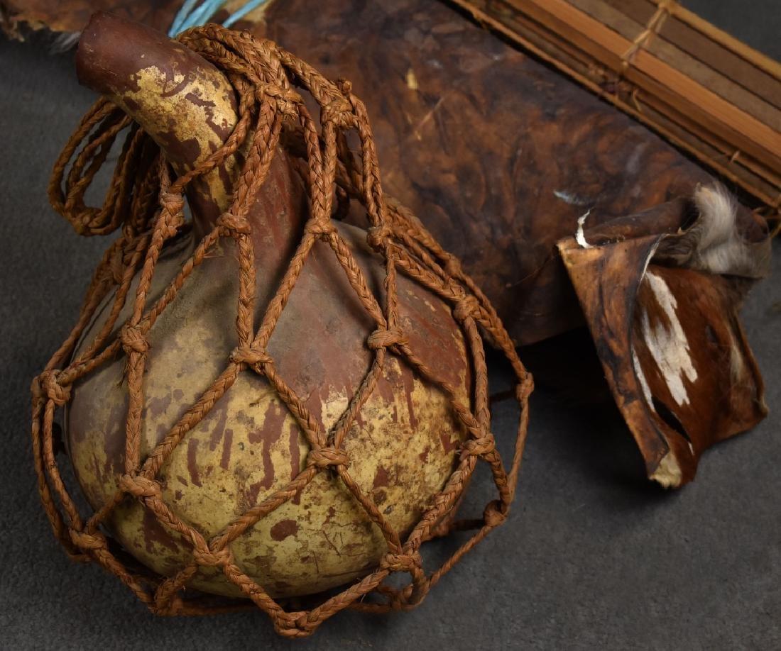 Gourd-Shaped Pottery Vase - 2
