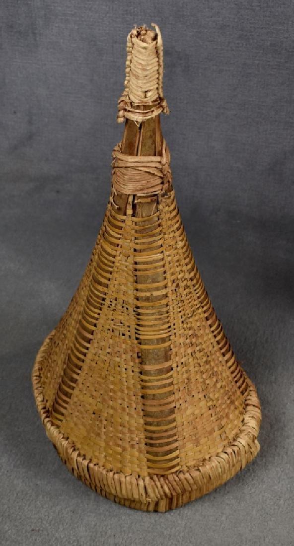 Gourd-Shaped Pottery Vase - 5