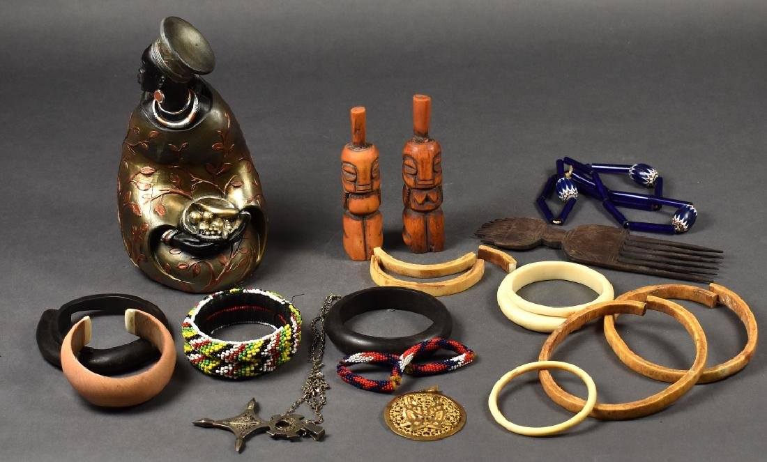 African Jewelry & Decorative Items