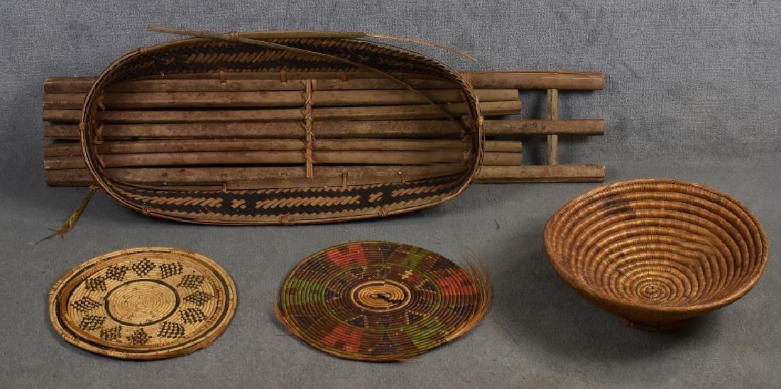 Decoration Bamboo Baby Camping Basket