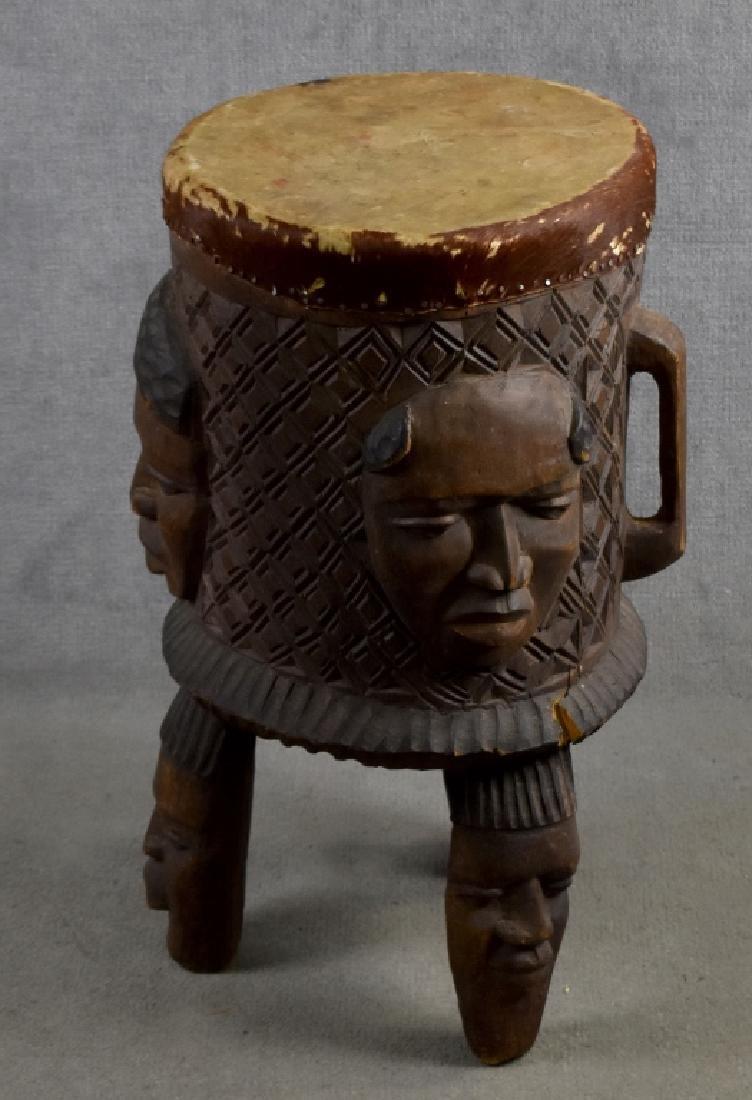 African Wooden Drum