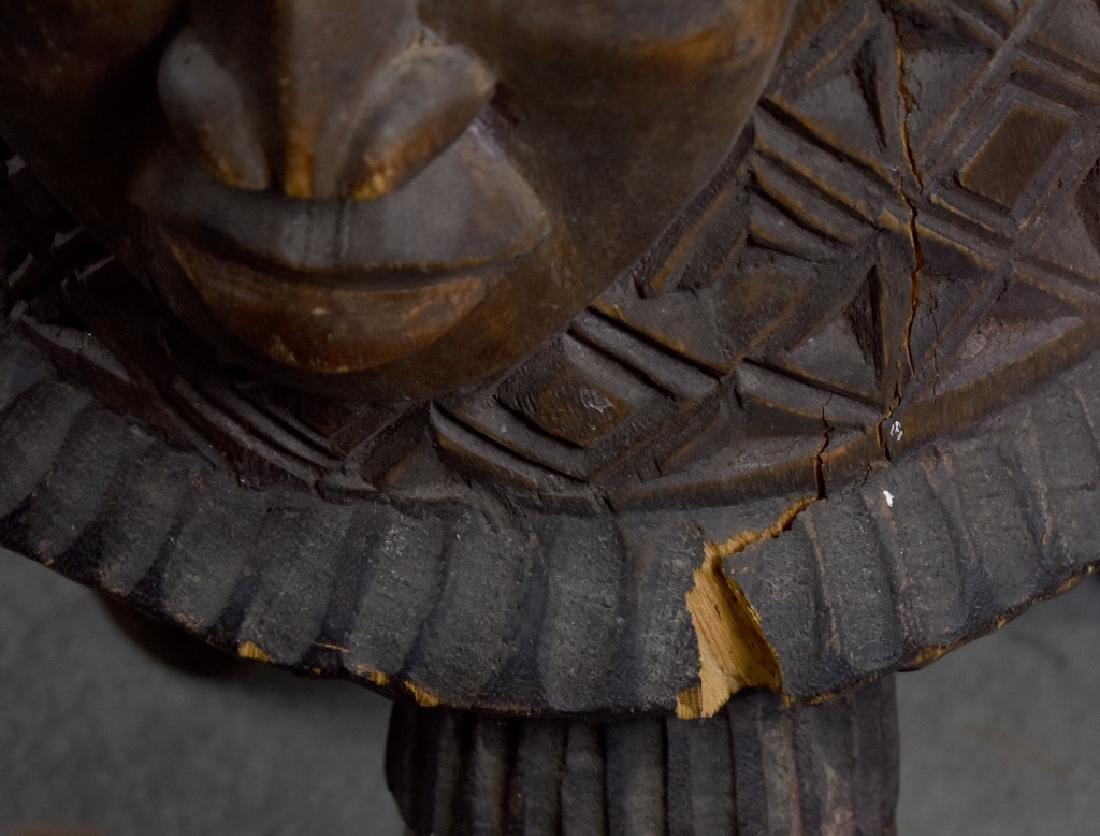 African Wooden Drum - 2