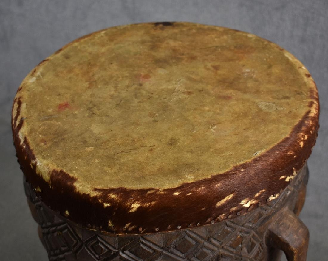African Wooden Drum - 3