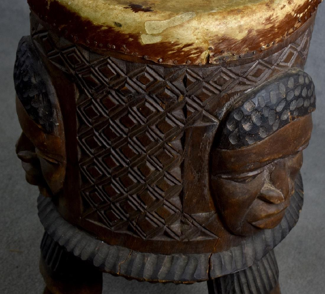 African Wooden Drum - 4