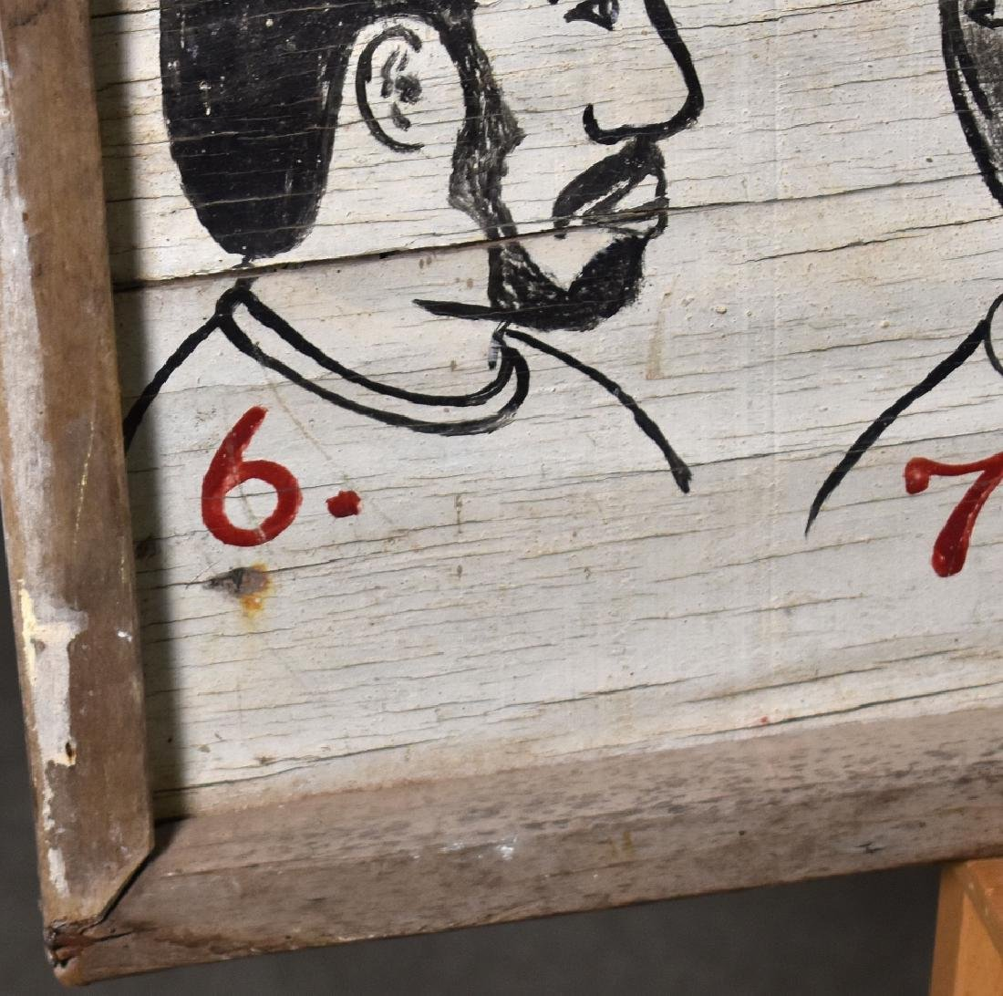 Folky African Barber Shop Sign - 2