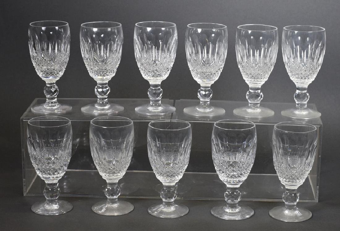 """11 Waterford Sherry Glasses, """"Colleen Encore"""""""