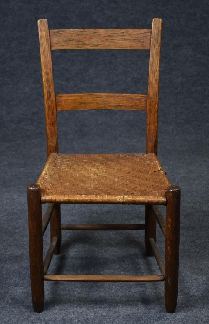 Oak Country Ladderback Chair