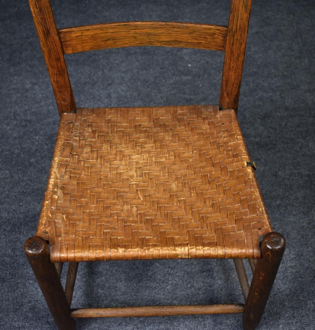 Oak Country Ladderback Chair - 2