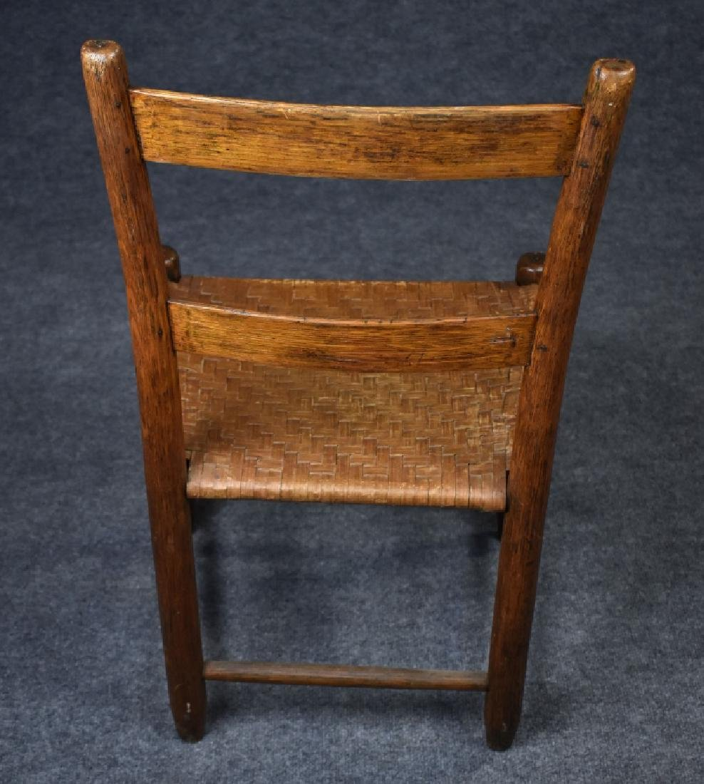 Oak Country Ladderback Chair - 3