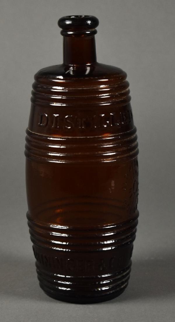 A.M.Bininger & Co. Barrel Whiskey Bottle